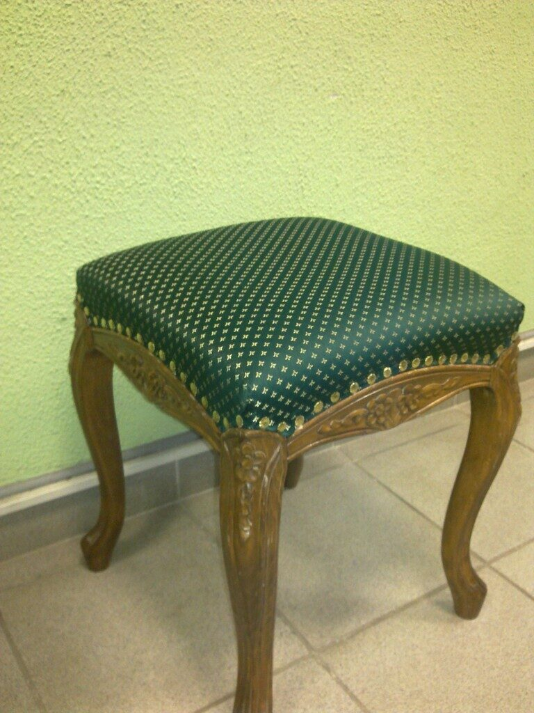 Как обшить стул кожей своими руками 72