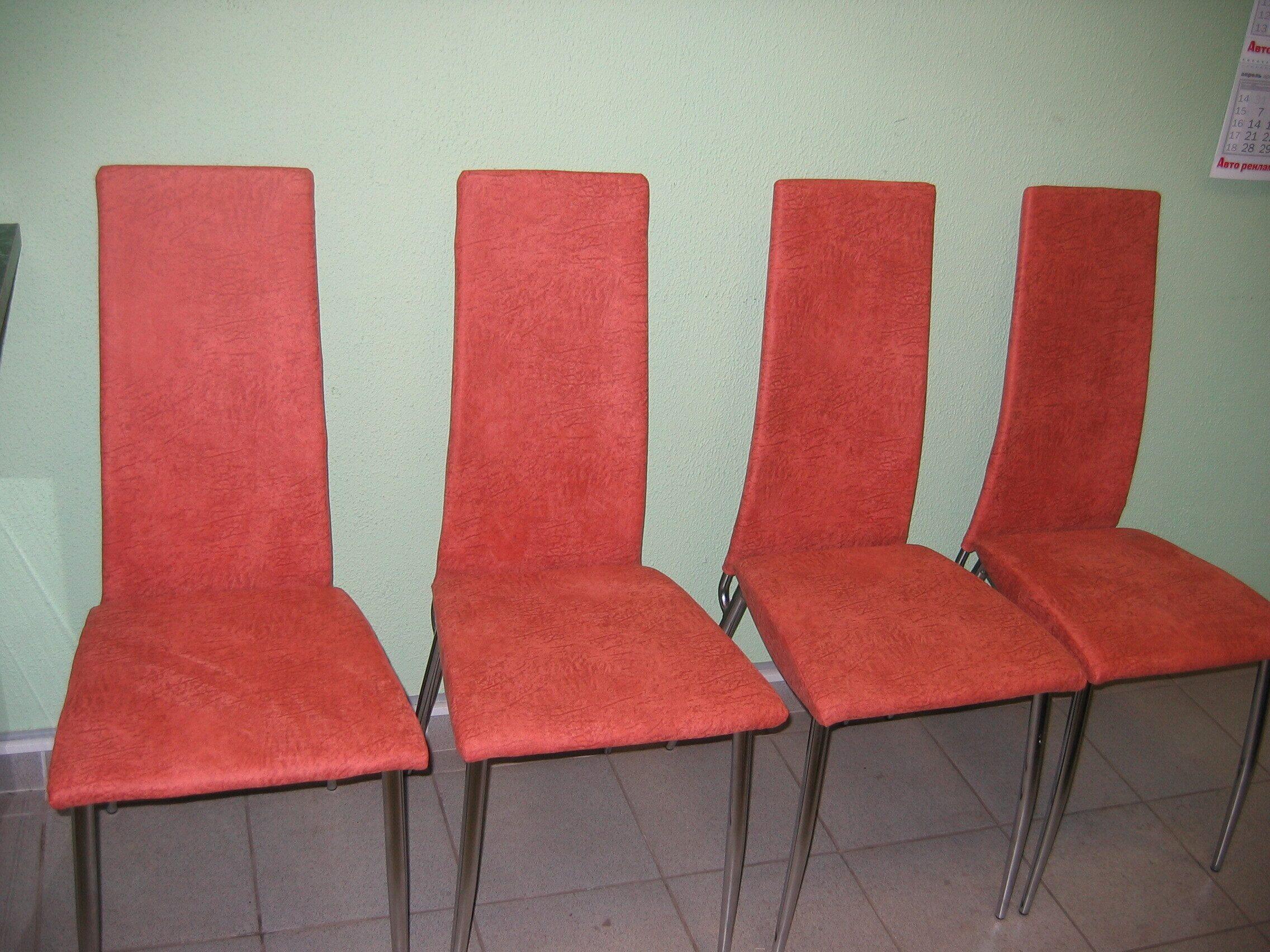 Стулья: перетяжка искусств. замшей Фотогалерея перетяжка сидений руля стульев обтяжка дверей