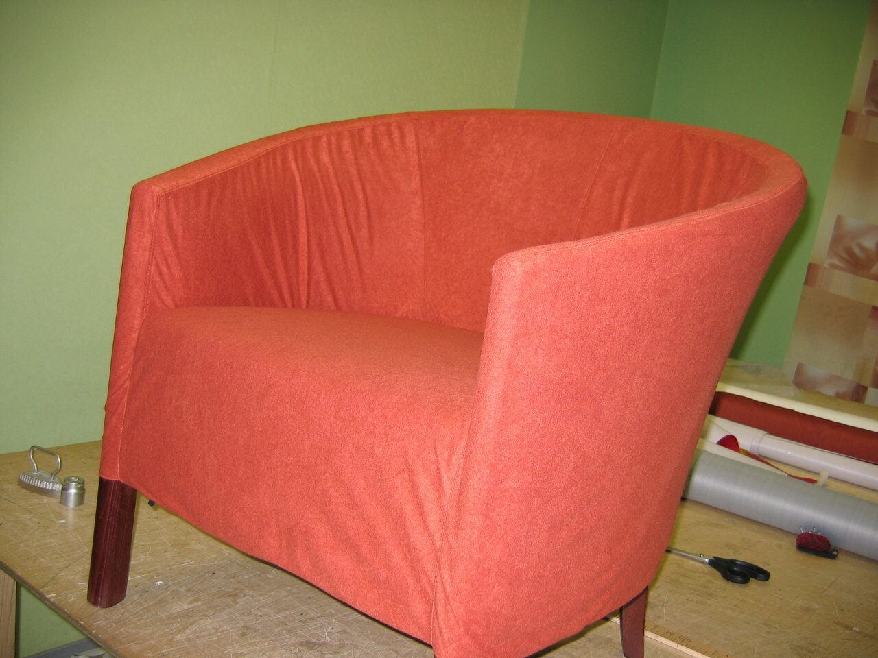 Обтянуть стулья кожзамом своими руками